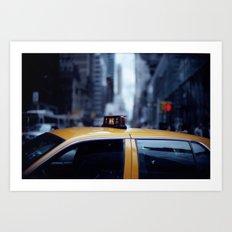 Manhattan Moods Art Print