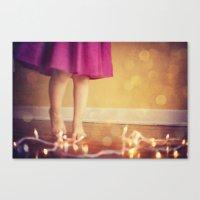The Light Dance Canvas Print