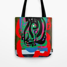 Hearts and Minds Are Not Straight Lines Never Let The Mind Go Asinine  Tote Bag