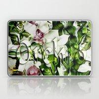 Liquid Orchid By Artist … Laptop & iPad Skin