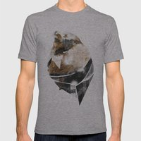 Broken Creature Mens Fitted Tee Athletic Grey SMALL
