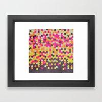 Honeycomb   Abyss Framed Art Print