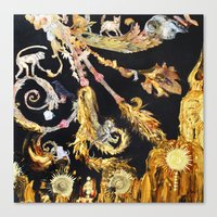 Gilded Cultivation Canvas Print