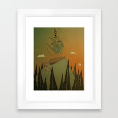 o Grand Royal Wizard let me into your kingdom Framed Art Print