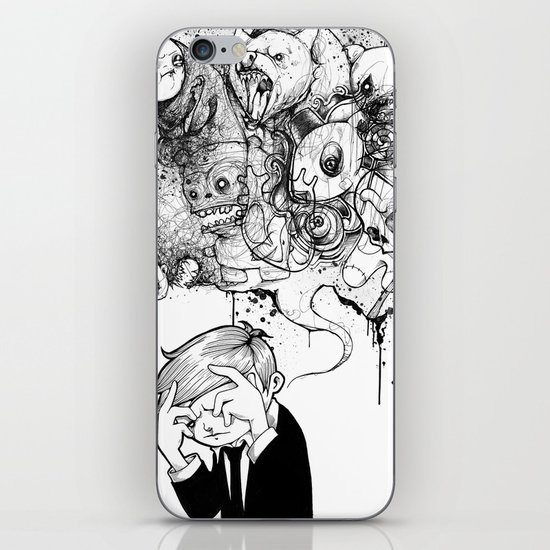 A Heavy Heart iPhone & iPod Skin