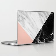 Laptop & iPad Skin featuring Marble Collage by Cafelab