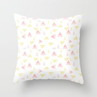 Never stop looking up Throw Pillow