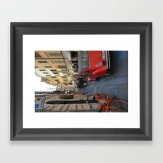 Streets of Rome Framed Art Print