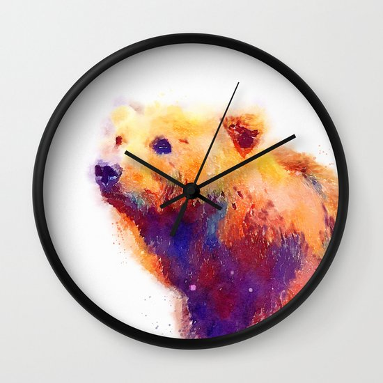 The Protective - Bear Wall Clock