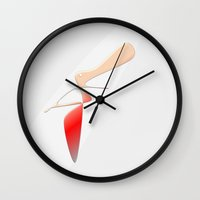 Madame Figaro Wall Clock