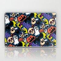 Spooky Pattern Laptop & iPad Skin