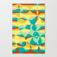 Imperfect Tiles Canvas Print