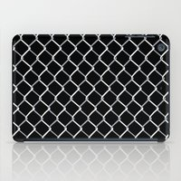 Chain Link on Black iPad Case