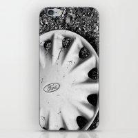 Hubcap B&W iPhone & iPod Skin