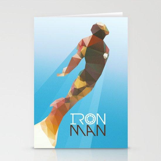 Iron Stationery Card