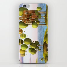 City in the Sky_Lanscape Format iPhone & iPod Skin