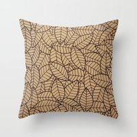 Lots-o-Leaves Throw Pillow