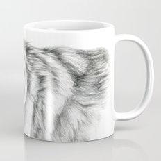 Wolf portrait G031 Mug