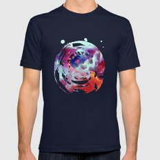 Ophiuchus Mens Fitted Tee Navy SMALL