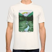 Landscapes / Nr. 2 Mens Fitted Tee Natural SMALL