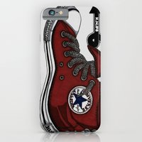 iPhone & iPod Case featuring A Step In The Right Direction by KNIfe