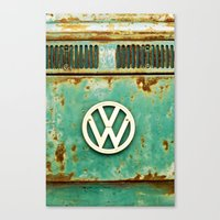 VW Retro Canvas Print