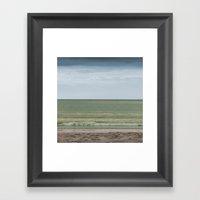 Seascape No. 1 Framed Art Print