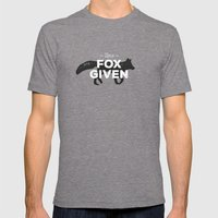 Zero Fox Given Mens Fitted Tee Tri-Grey SMALL