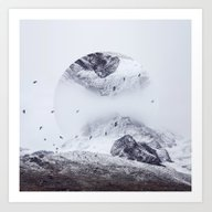 Art Print featuring Just Breathe by Witchoria