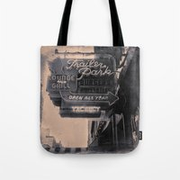 Trailer Park Lounge Tote Bag