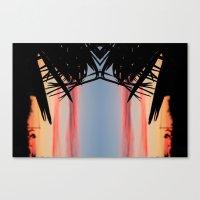 SUMMER SHADOWS Canvas Print