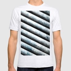 cool design II Mens Fitted Tee Ash Grey SMALL