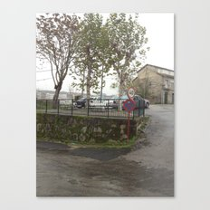 little town Canvas Print
