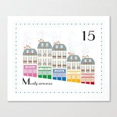 Paris _ Montparnasse Canvas Print