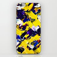 Yellow Intersections iPhone & iPod Skin