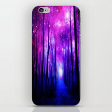 Magical Forest Path Pink iPhone & iPod Skin