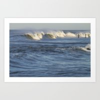 Abstract Wave Art Print