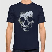 Muerto Mens Fitted Tee Navy SMALL