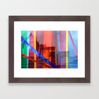 Distortion 3 Framed Art Print
