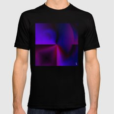 Graphical Expression II Mens Fitted Tee Black SMALL