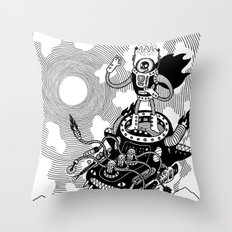 So we meet again! Throw Pillow