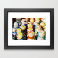 Matryoshkas Framed Art Print