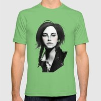 Fashion Illustration - L… Mens Fitted Tee Grass SMALL