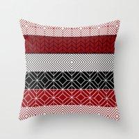 Tribal I Throw Pillow