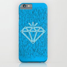 diamond cyan iPhone 6 Slim Case