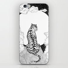 Tiger Moon iPhone & iPod Skin