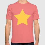 Steven Universe Mens Fitted Tee Pomegranate SMALL
