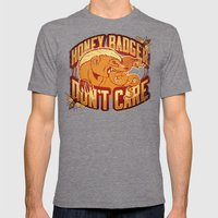 #HBDC Mens Fitted Tee Tri-Grey SMALL