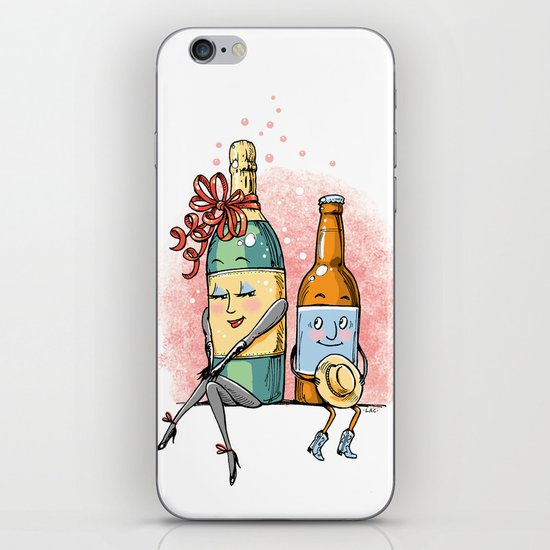 Bottled Romance iPhone & iPod Skin