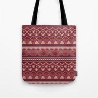 CRYSTAL AZTEC   Tote Bag